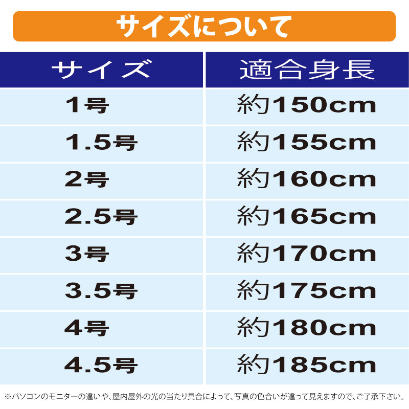 inI(インアイ)サイズ表