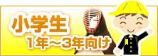 剣道 面(単品) 小学生(1年〜3年)