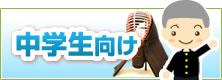 剣道 面(単品) 中学生向け width=